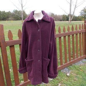 L.L. Bean Fleece Jacket Size Large